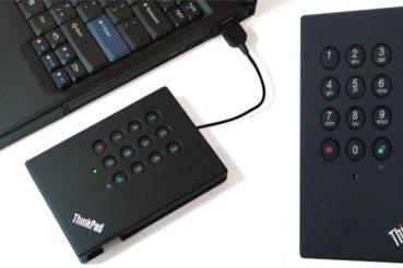 Ārējais cietais disks ar šifrēšanas iespēju ThinkPad USB 3.0