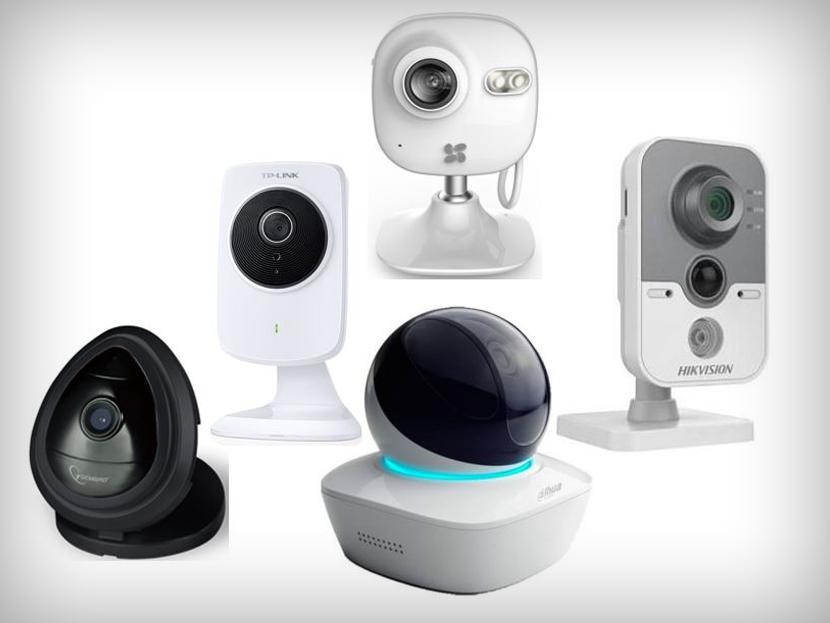 Bezvadu mini videonovērošanas kameras