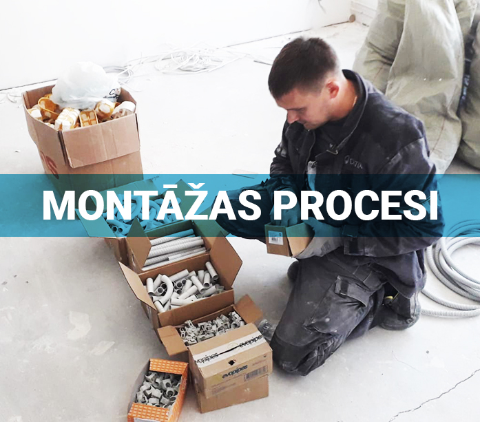 Montāžas procesi